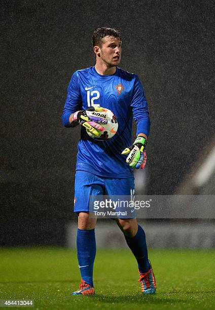 Fabio Duarte of Portugal during the Under 17 International match between England U17 and Portugal U17 at Proact Stadium on August 29 2014 in...
