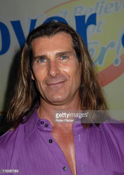 Fabio during Soap Stars Competing to be The New Spokesman for I Can't Believe Its Not Butter June 7 2006 at Madison Square Park in New York City New...