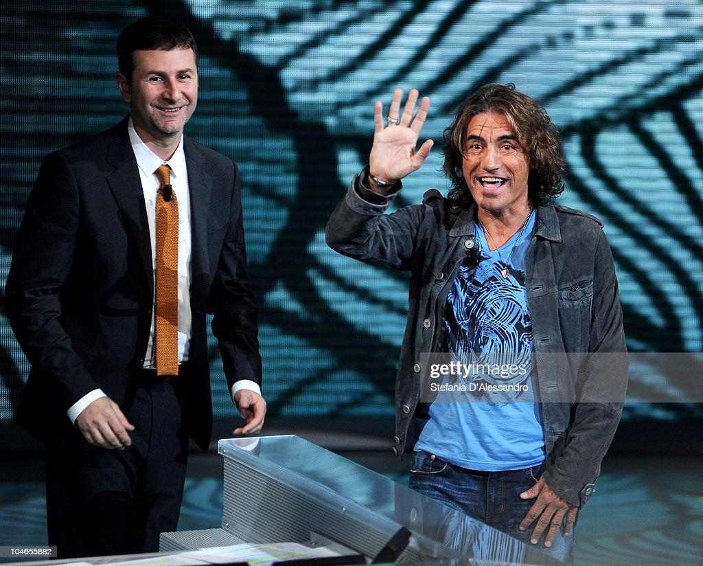 """""""Che Tempo Che Fa"""" Italian TV Show - October 2, 2010"""