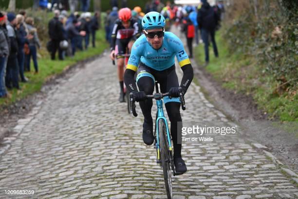Fabio Felline of Italy and Astana Pro Team / Cobblestones / during the 72nd Kuurne-Brussel-Kuurne 2020 a 201km race from Kuurne to Kuurne / #KBK20 /...