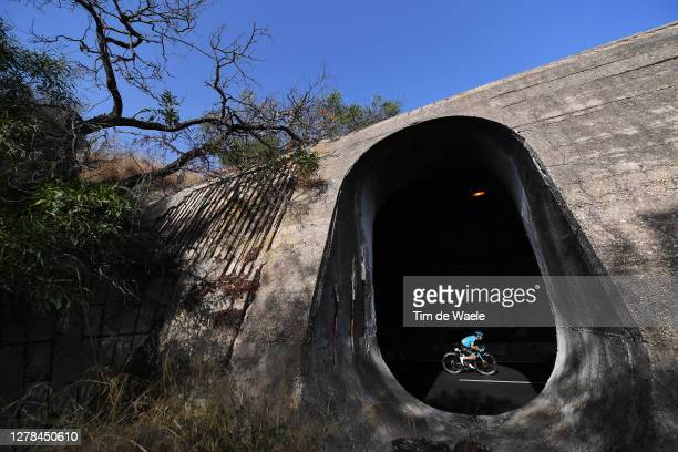 Fabio Felline of Italy and Astana Pro Team / Tunnel / Landscape / Peloton / during the 103rd Giro d'Italia 2020, Stage 2 a 149km stage from Alcamo to...