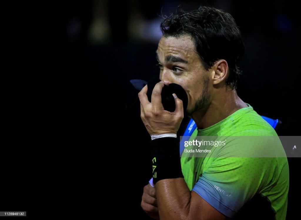 Rio Open 2019 - Day 2 : News Photo