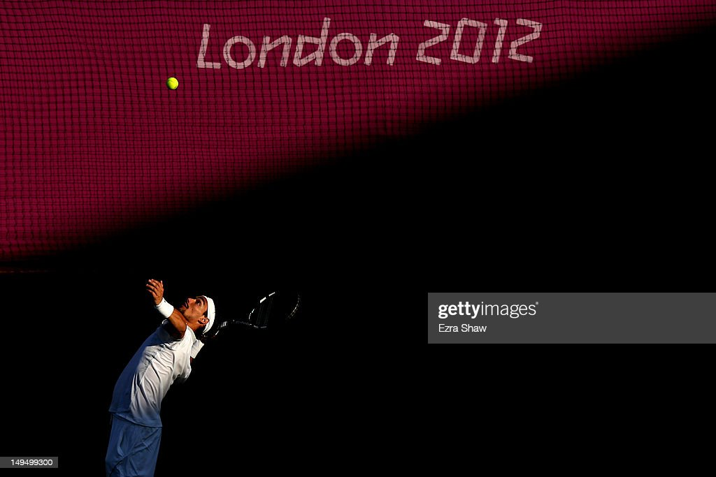 Olympics Day 2 - Tennis : News Photo