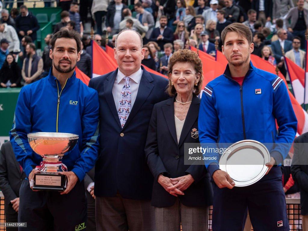 Celebrities At Rolex Monte-Carlo Masters - Day Eight : Nachrichtenfoto