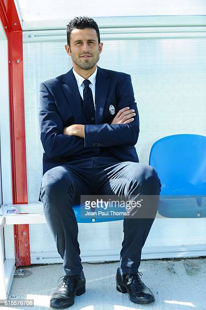 Fabio GROSSO coach of Juventus during the Youth League match between Lyon and Juventus at Plaine des Jeux de Gerland on October 18 2016 in Lyon France