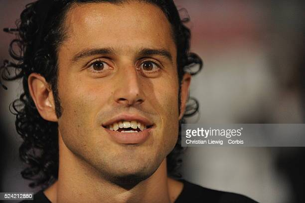 Fabio Grosso during the 2008 2009 UEFA Champions League soccer match between Olympique Lyonnais and Fiorentina