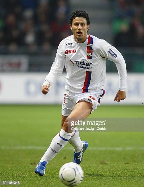 Fabio Grosso during the French Ligue 1 soccer match between Rennes and Lyon
