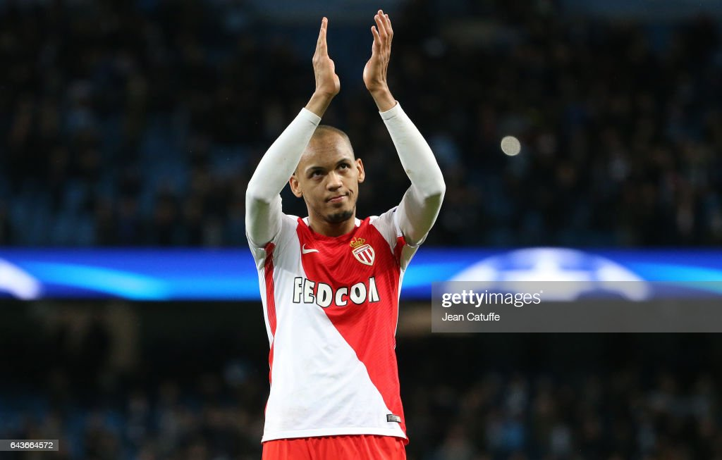 Manchester City FC v AS Monaco - UEFA Champions League Round of 16: First Leg : ニュース写真