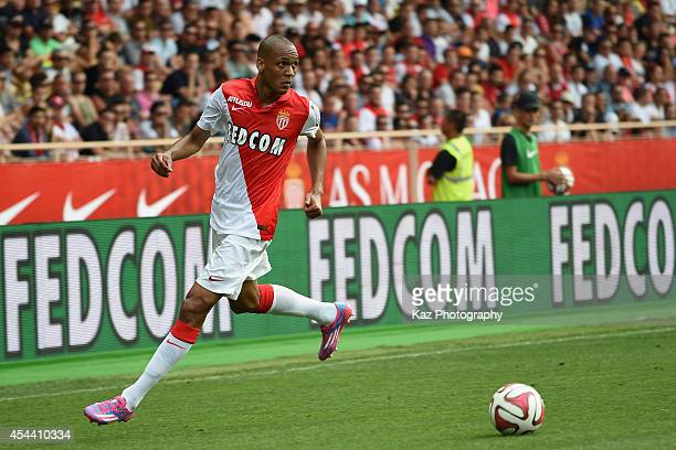 Fabio Henrique Tavares of Monaco in action during the French Ligue 1 match between AS Monaco FC and LOSC Lille at Louis II Stadium on August 30 2014...