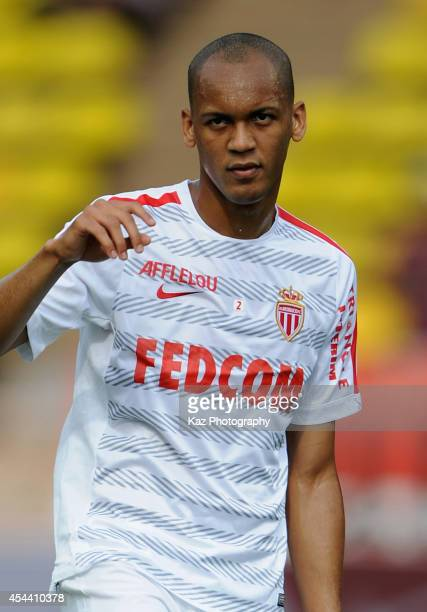 Fabio Henrique Tavares of Monaco warms up prior to the French Ligue 1 match between AS Monaco FC and LOSC Lille at Louis II Stadium on August 30 2014...