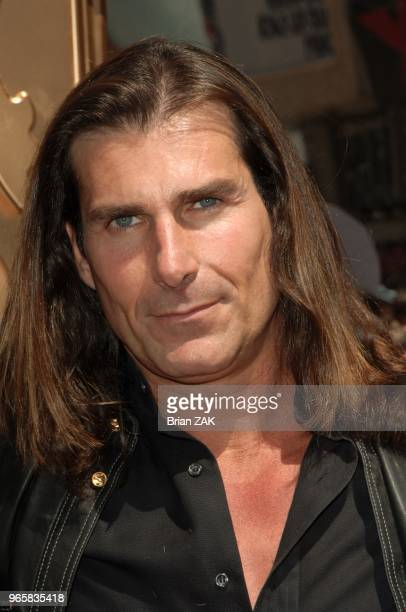 Fabio in Time Square promoting OxygenÃïs new reality series Ã¿Mr RomanceÃ¿ in which he will ride in on a white horse as his eager protÂégÂés await