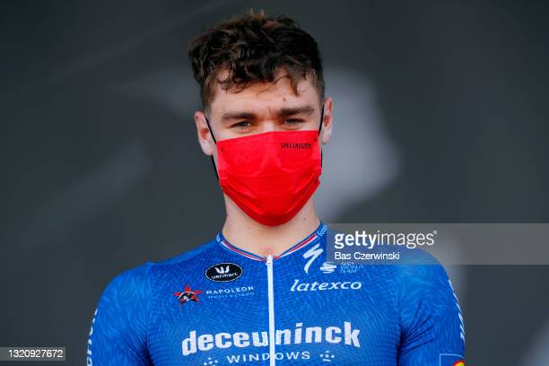 Fabio Jakobsen of Netherlands and Team Deceuninck - Quick-Step at start in Brioude City during the 73rd Critérium du Dauphiné 2021, Stage 2 a 172,8km...