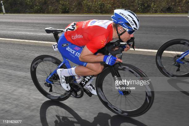 Fabio Jakobsen of Netherlands and Team Deceuninck - Quick-Step Red Points Jersey / during the 45th Volta ao Algarve, Stage 4 a 198,3km stage from...