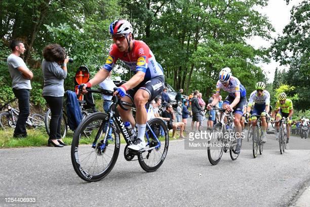 Fabio Jakobsen of The Netherlands and Team Deceuninck - Quick-Step / Danny van Poppel of The Netherlands Team Circus-Wanty Gobert / Baptiste...