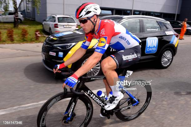 Fabio Jakobsen of The Netherlands and Team Deceuninck - Quick-Step / during the 77th Tour of Poland 2020, Stage 1 a 195,8km stage from Silesian...