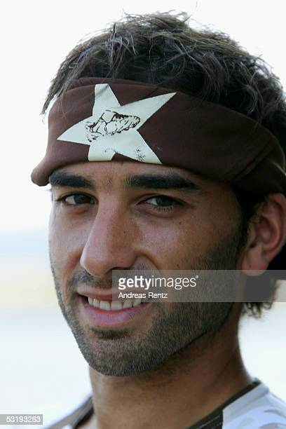 Fabio Morena poses for a photograph during the Team Presentation of FC St. Pauli on July 4, 2005 in Hamburg, Germany