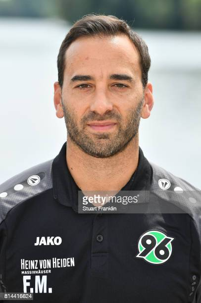 Fabio Morena team manager of Hannover 96 poses during the team presentation at on July 14 2017 in Hanover Germany