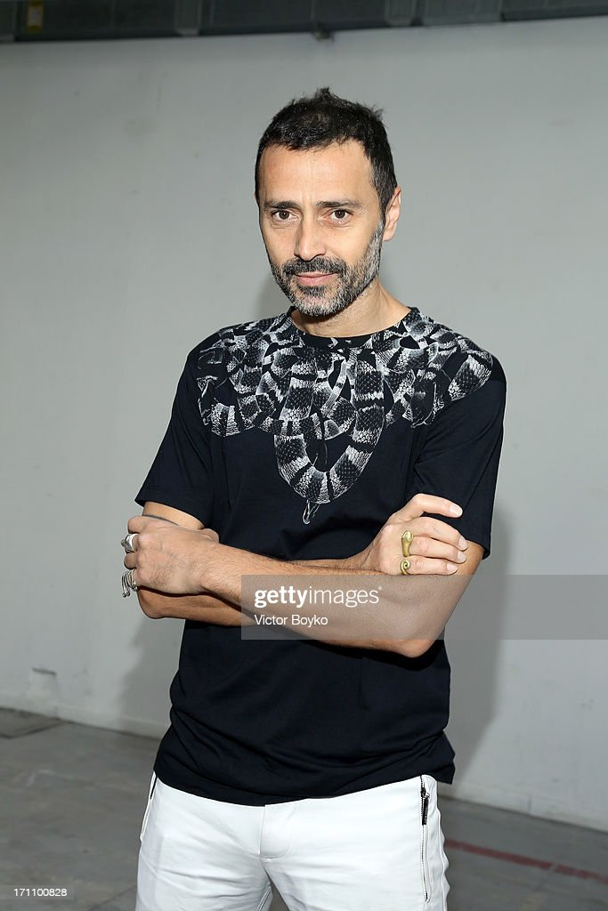 Fabio Novembre attends the Costume National Homme show during Milan Menswear Fashion Week Spring Summer 2014 on June 22, 2013 in Milan, Italy.