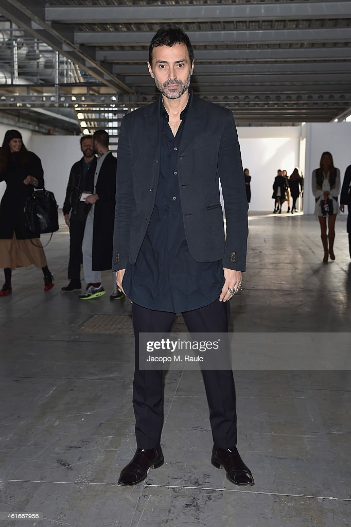 COSTUME NATIONAL HOMME - Front Row - Milan Menswear Fashion Week Fall Winter 2015/2016