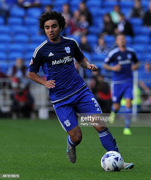Fabio of Cardiff City during the Sky Bet Championship match between Cardiff City and Huddersfield at Cardiff City Stadium on September 12 2015 in...