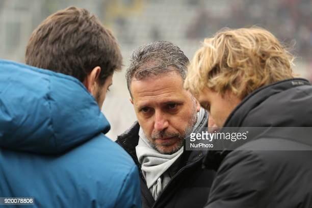 Fabio Paratici sporting director of Juventus FC before the Serie A football match between Torino FC and Juventus FC at Olympic Grande Torino Stadium...