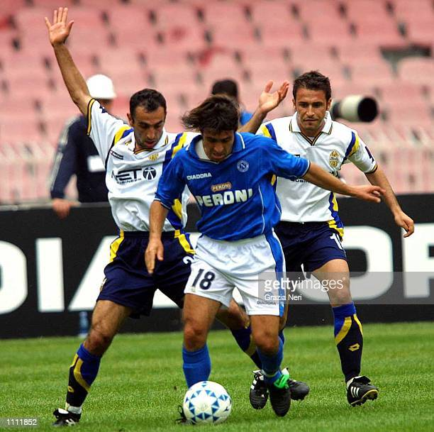 Fabio Pecchia of Napoli in action during the Serie A 31st Round League match between Napoli and Verona played at the San Paolo Stadium Napoli DIGITAL...