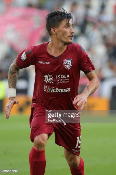 Fabio Pisacane during the Serie A football match between Juventus FC and Cagliari Calcio at Allianz Stadium on august 19 2017 in Turin Italy