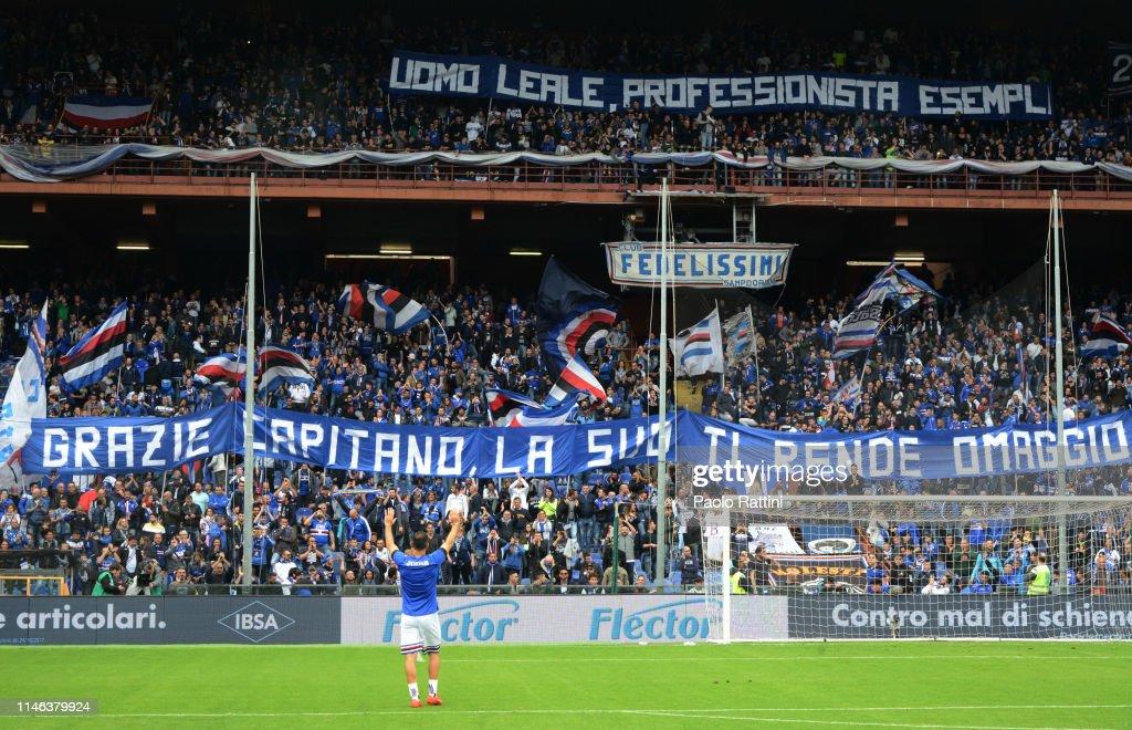 ITA: UC Sampdoria v Juventus - Serie A