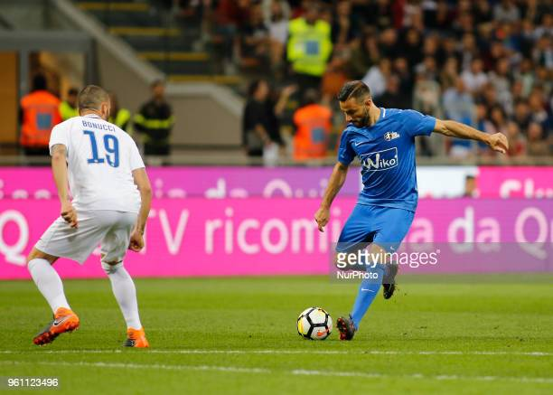 Fabio Quagliarella during La Notte del Maesto the last match of Andrea Pirlo in Milan on May 21 2018