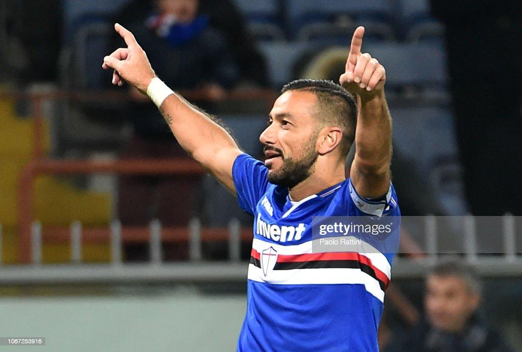 UC Sampdoria v Bologna FC - Serie A : Fotografía de noticias