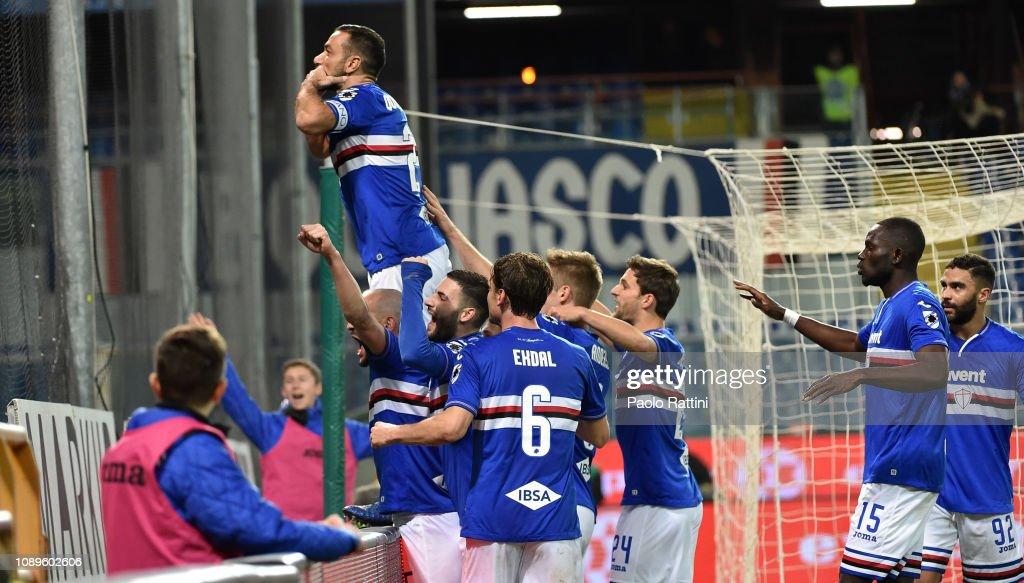 UC Sampdoria v Udinese - Serie A : News Photo