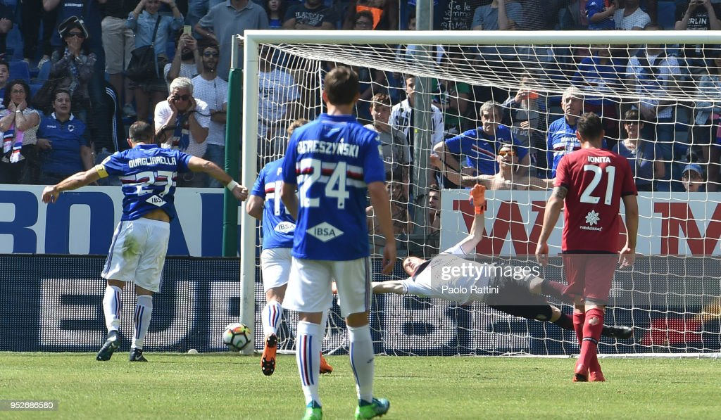 UC Sampdoria v Cagliari Calcio - Serie A