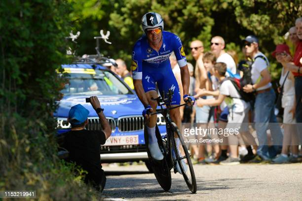 Fabio Sabatini of Italy and Team Deceuninck QuickStep / during the 102nd Giro d'Italia 2019 Stage 21 a 17km Individual Time Trial stage from Verona...