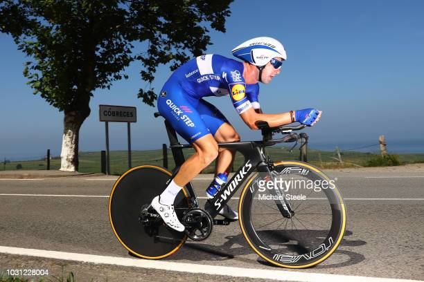 Fabio Sabatini of Italy and Team QuickStep Floors / Cobreces Village / Cantabrico sea / during the 73rd Tour of Spain 2018 Stage 16 a 32km Individual...
