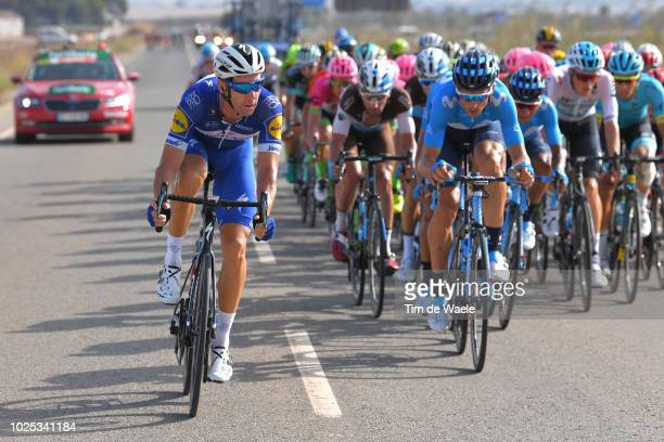 Fabio Sabatini of Italy and Team QuickStep Floors / during the 73rd Tour of Spain 2018 Stage 6 a 1557km stage from HuercalOvera to San Javier Mar...