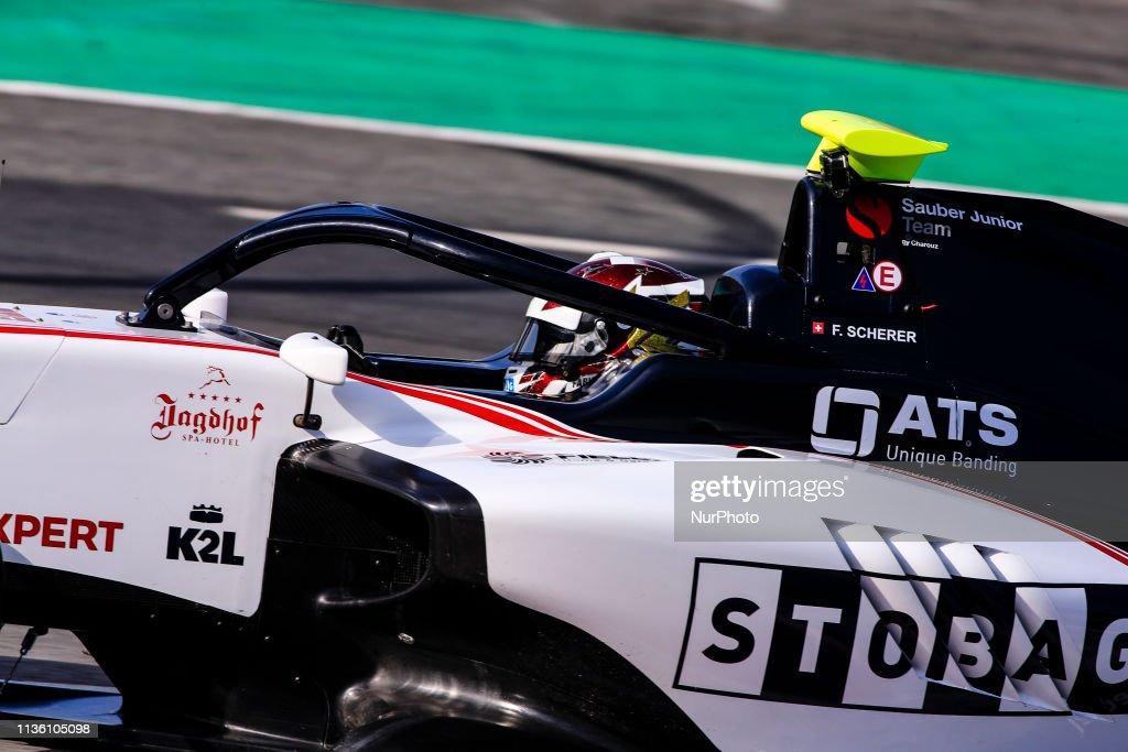 FIA Formula 3 Test - Barcelona : Nachrichtenfoto
