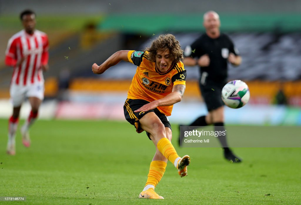 Wolverhampton Wanderers v Stoke City - Carabao Cup Second Round : ニュース写真