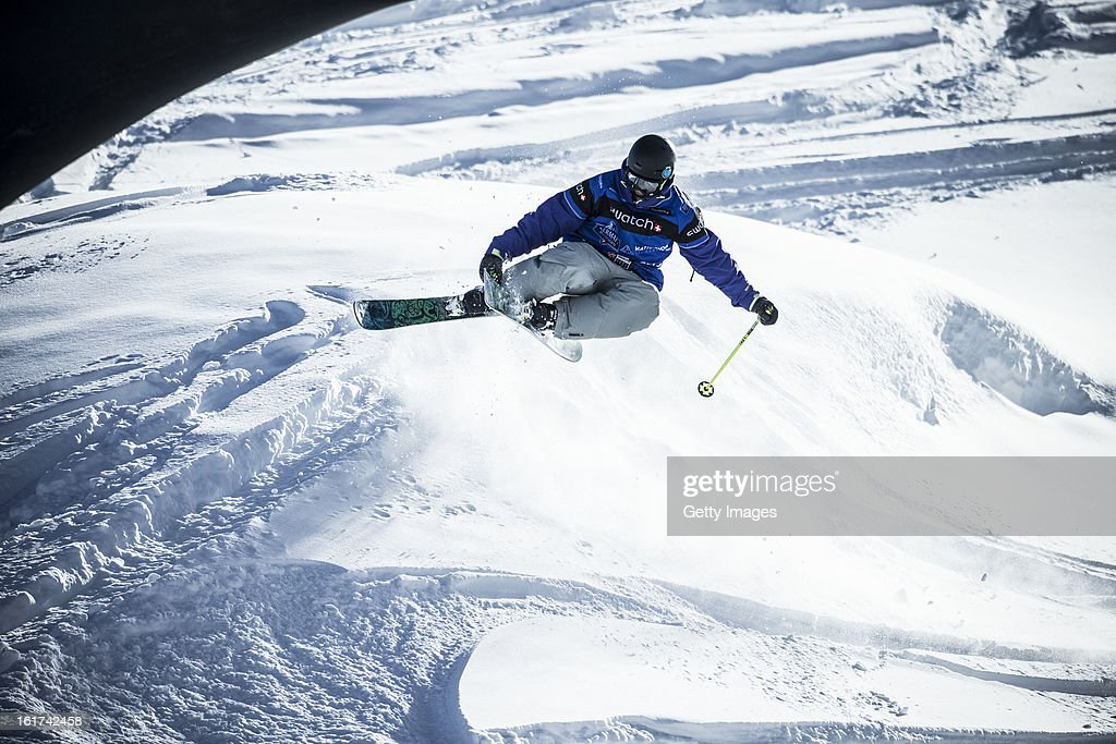 Fabio Studer of Austria and Team Europe competes during day 5 of the Swatch Skiers Cup on February 14, 2013 in Zermatt, Switzerland.