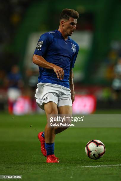 Fabio Sturgeon of CD Feirense during the Liga NOS match between Sporting CP and CD Feirense at Estadio Jose Alvalade on September 1 2018 in Lisbon...