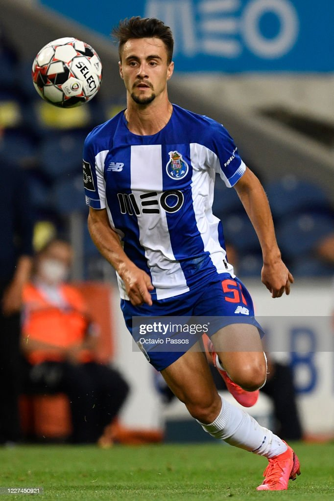 Fabio Vieira of FC Porto in action during the Liga Nos match between...  News Photo - Getty Images
