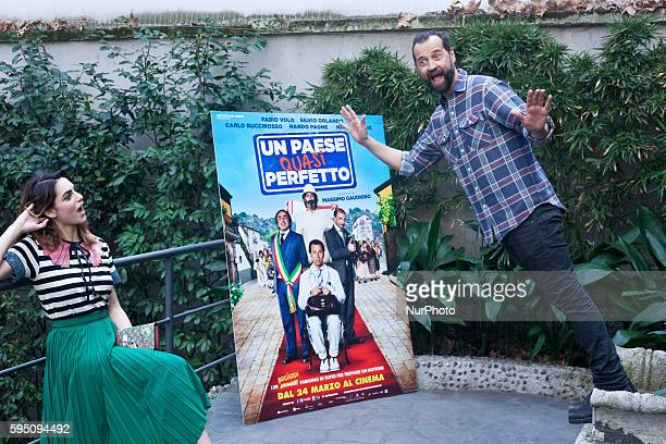 Un Paese Quasi Perfetto Photocall In Milan Stock Photos And Pictures