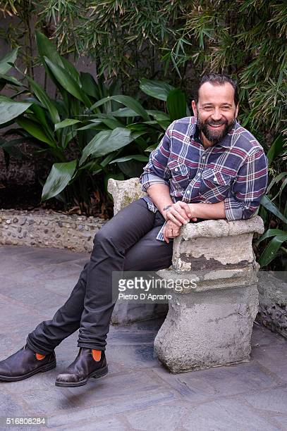 Fabio Volo attends a photocall for 'Un Paese Quasi Perfetto' on March 21 2016 in Milan Italy