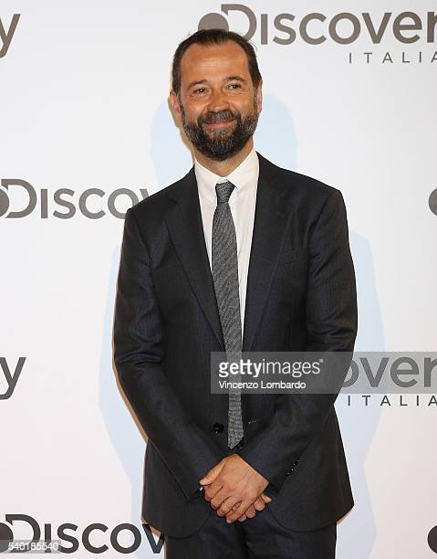 Fabio Volo attends the Discovery Networks Upfront on June 14 2016 in Milan Italy