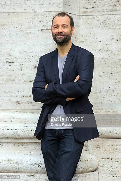 Fabio Volo attends the 'Studio Illegale' photocall at Tree Bar on February 5 2013 in Rome Italy