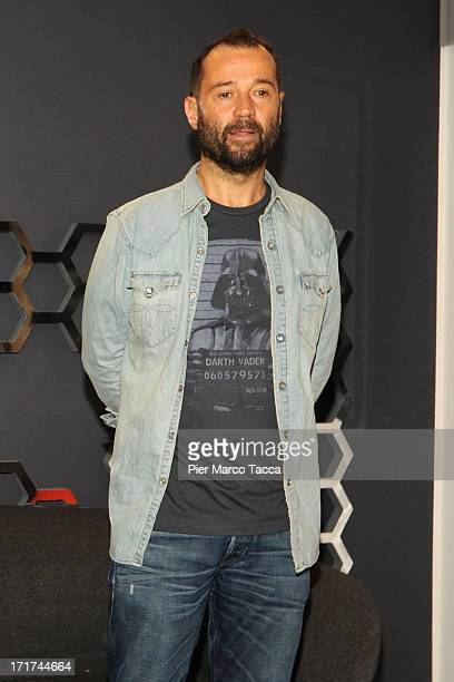 Fabio Volo attends the 'Volo Is Back' photocall and press conference on June 28 2013 in Milan Italy