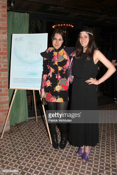 Fabiola Beracasa and Arden Wohl attend House of Lavande Hosts the Nest Foundation Gala at Bowery Hotel on May 1 2009 in New York City