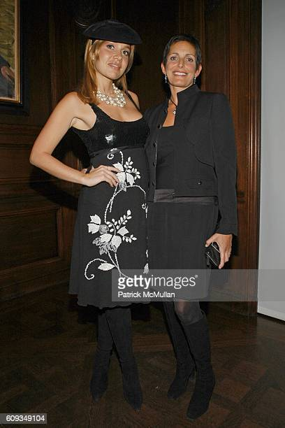 Fabiola Beracasa and attend Madame Jacques Chirac Madame Georges Pompidou Mr Ronald Lauder and Mrs Randolph Hearst Host a Private Dinner to Benefit...