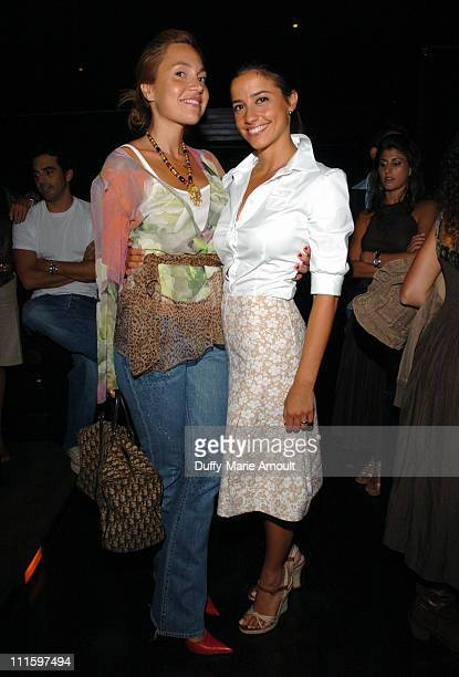 Fabiola Beracasa and Shoshanna LonsteinGross during Olympus Fashion Week Spring 2006 Yigal Azrouel Spring After Party at Double Seven in New York...