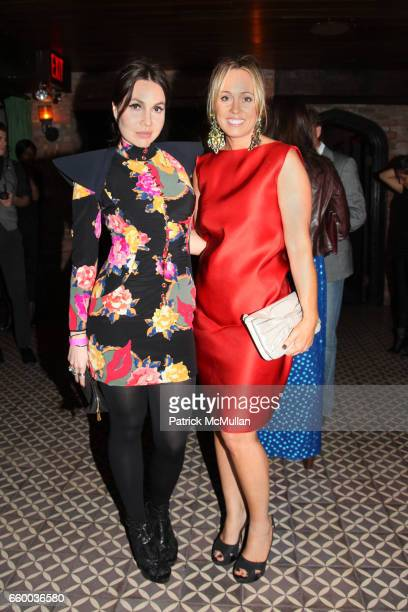 Fabiola Beracasa and Tracy Smith attend House of Lavande Hosts the Nest Foundation Gala at Bowery Hotel on May 1 2009 in New York City