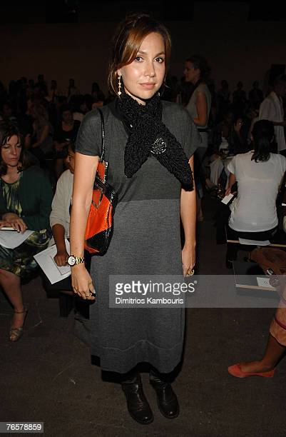 Fabiola Beracasa at Thakoon Spring 2008 during Mercedes-Benz Fashion Week at Eyebeam on September 7, 2007 in New York City.
